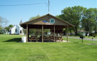 Village Park Shelter in Long Point, IL